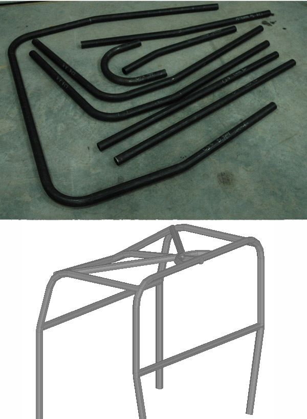 CJ8 Scrambler Roll Cage Kit