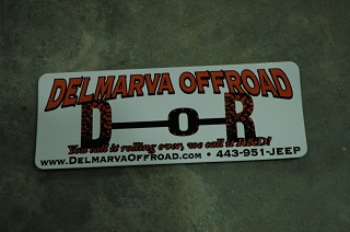 DOR Decal