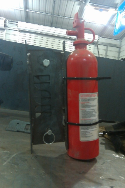 Fire Extinguisher Brackets